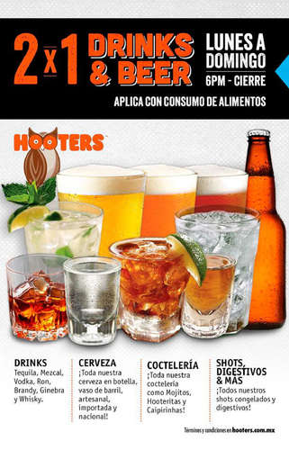 2x1 Drinks & Beer La Rosa y Forum Buenavista- Page 1