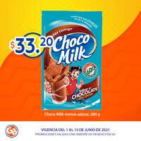 Chocomilk a solo $33.20 pesos