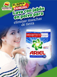 Detergente Ariel