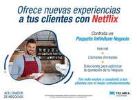 Paquete Infinitum Negocio y Netflix