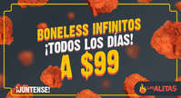 Boneless infinitos
