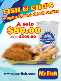 Fish & Chips a solo $89