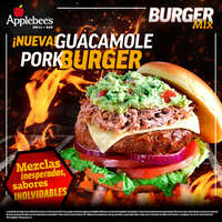 ¡Nueva! Guacamole Pork Burger
