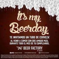 It's my Beerday