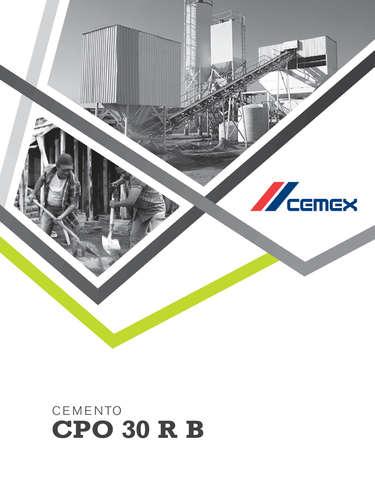 cemento CPO 30 RB- Page 1