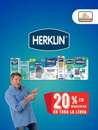 Herklin 20% de descuento en toda la línea