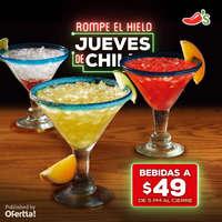 Jueves de bebidas a $49