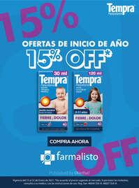 15% OFF en Farmalisto