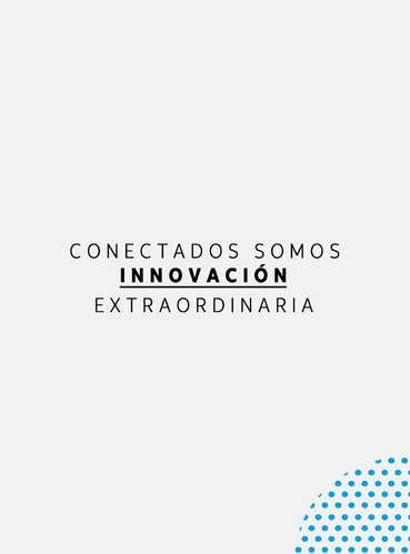 Conectados somos innovación- Page 1