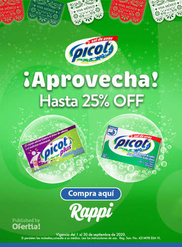 Aprovecha, Hasta 25% off- Page 1