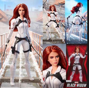 Barbie Edición BlackWidow- Page 1
