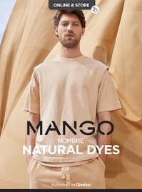 Natural dyes hombre
