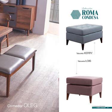 Catálogo de Muebles Roma Condesa- Page 1