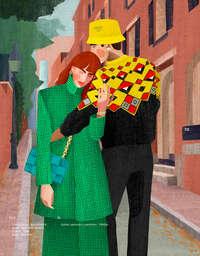 El libro amarillo otoño