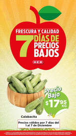 7 días de precios bajos - Tampico