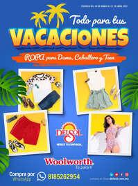 Todo para tus vacaciones Adultos