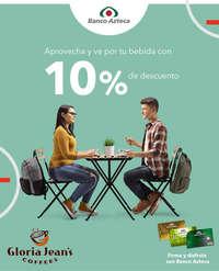 10% de descuento en Glora Jean's Coffee