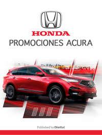 Honda promociones acura