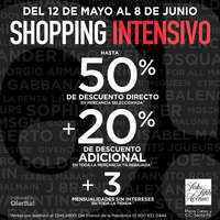 Shopping intensivo