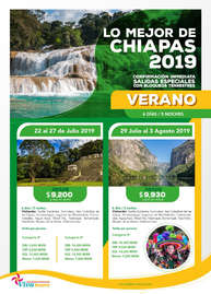 Chiapas 2019