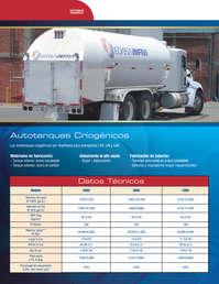 Autotanques criogénicos
