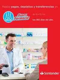 Pagos, depósitos y transferencias en Farmacias Guadalajara