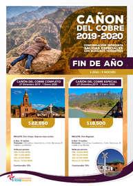 Cañón del cobre 2019-2020 fin de año