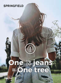 One pair of jeans, one tree