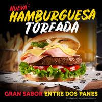 Nueva hamburguesa toreada