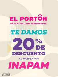 20% de descuento con INAPAM