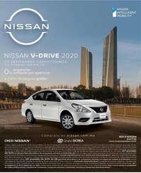 Nissan v-drive 2020