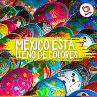 México está lleno de colores