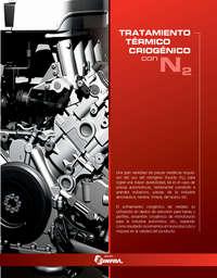Tratamiento térmico criogénico con N2