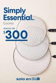 Básicos para tu cocina a $300 pesos o menos