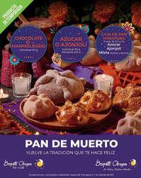 Pan de Muerto en Bisquets Obregón