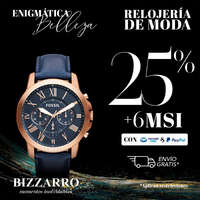 -25% + 6MSI en relojería de moda