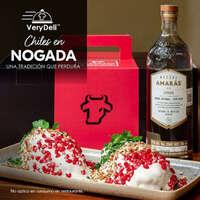 Septiembre se celebra con Chiles en Nogada