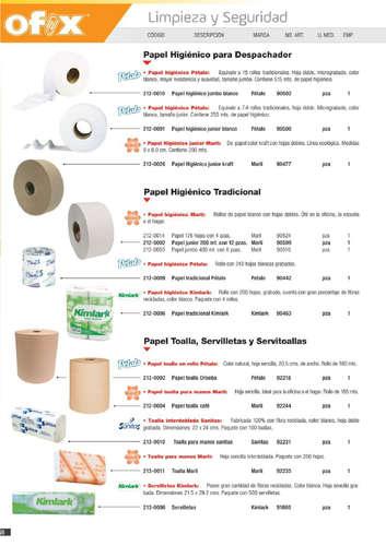 Catálogo de productos- Page 1