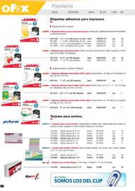 Catálogo de productos