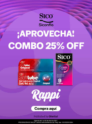 ¡Aprovecha! 25% OFF- Page 1