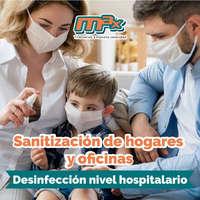 Sanitización nivel hospitalario