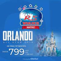 Orlando 2019 desde $799 USD