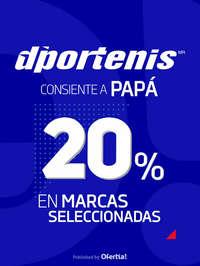 Consiente a Papá - 20% en marcas seleccionadas