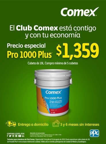 El club Comex está contigo - Pro 1000- Page 1