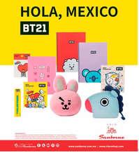 Hola, México BT21