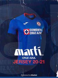 Jersey Cruz Azul