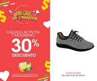 30% de descuento en calzado