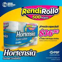 Confía en RendiRollo Hortensia Suave