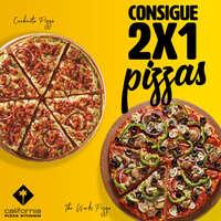 ¡¡Mejoramos tu semana con 2x1 en nuestras pizzas!!