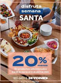 20% menos en productos seleccionados